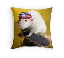 Hip Hop Huxley Throw Pillow