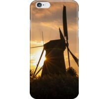 Iconic Windmills of Kinderdijk, The Netherlands iPhone Case/Skin