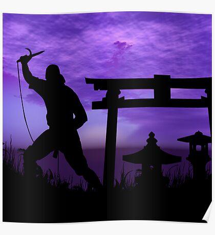 Ninja Attack Poster