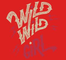 Wild Wild Girl One Piece - Short Sleeve