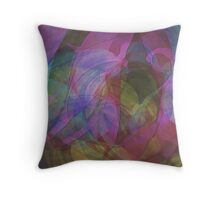CIRCULAR WAVES Throw Pillow