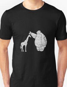 Giraffe and love T-Shirt