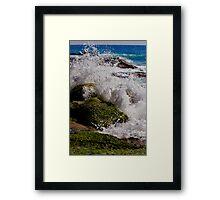 Splash Suspended Framed Print