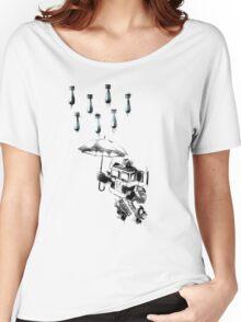 'Summer Rain' Women's Relaxed Fit T-Shirt