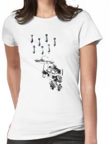 'Summer Rain' Womens Fitted T-Shirt