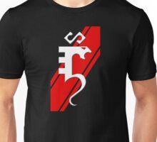 Serpentine Red Stripe Unisex T-Shirt