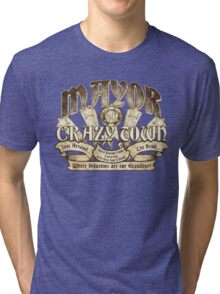 Mayor of Crazy Town Tri-blend T-Shirt