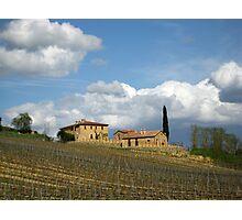 Vigna Toscana Photographic Print