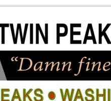 Twin Peaks Mall Sticker