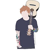 The singing Ginger Photographic Print