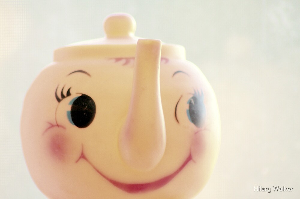 Little Miss Teapot by Hilary Walker