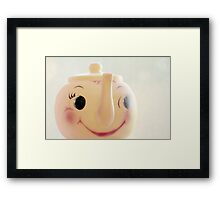 Little Miss Teapot Framed Print