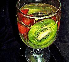 Kiwi  / Red Grapes                                                             by Rick  Todaro