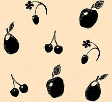 Fruits Illustration by Anviczo