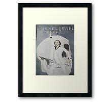 Disco Shakespeare Framed Print