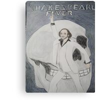 Disco Shakespeare Canvas Print