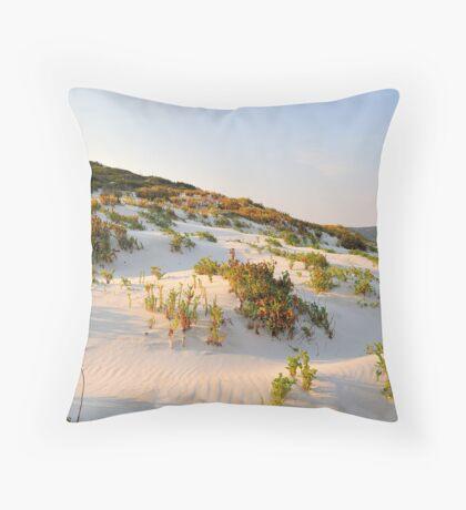 Morning Dune Throw Pillow
