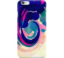 Psychedelic Paint Swirl iPhone Case/Skin