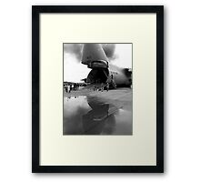 In the Belly of the Beast Framed Print