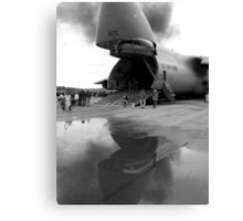 In the Belly of the Beast Canvas Print