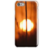 Sunset Cut In Half | East Moriches, New York  iPhone Case/Skin