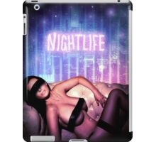 Nightlife girl eye band woman wedding party iPad Case/Skin