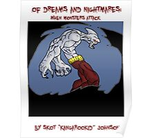 of dreams and nightmares: when monsters attack... Poster