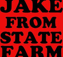 JAKE FROM STATE FARM by gittytees
