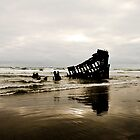Wreck of the Peter Iredale by Jenny Ryan