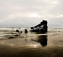 Wreck of the Peter Iredale by Jenny Miller