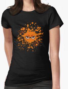 Inkling Splatter Womens Fitted T-Shirt