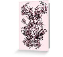 Jackalope Greeting Card