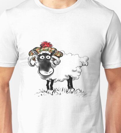 Rabbie Baa-rns Unisex T-Shirt