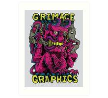 Grimace Graphics Goblin Art Print