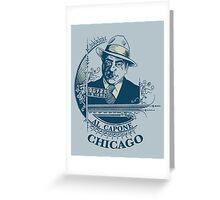 Al Capone OG Greeting Card