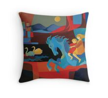 THE ELDER TREE MOTHER Throw Pillow