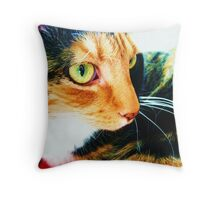 Tortoise Shell Throw Pillow