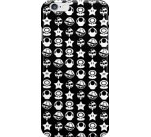 White mario items iPhone Case/Skin