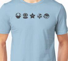 Black mario items Unisex T-Shirt