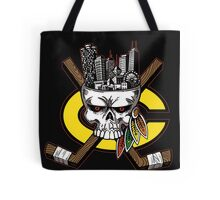 Chicago Blackhawks Skyline Tote Bag