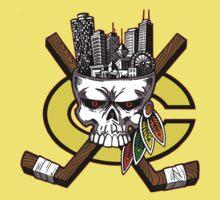 Chicago Blackhawks Skyline Kids Clothes