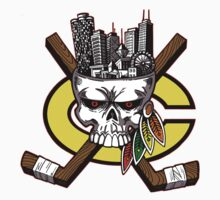 Chicago Blackhawks Skyline T-Shirt