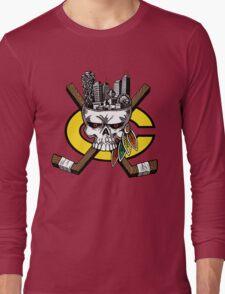 Chicago Blackhawks Skyline Long Sleeve T-Shirt