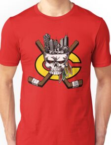 Go Chicago Skyline Unisex T-Shirt