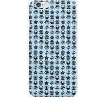 Black mario items iPhone Case/Skin