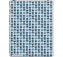 Black mario items iPad Case/Skin