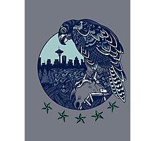 Seattle Seahawks Skyline Photographic Print