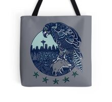 Seattle Seahawks Skyline Tote Bag