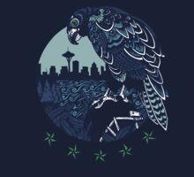 Seattle Seahawks Skyline Kids Clothes