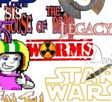 Memories of videogames Sticker